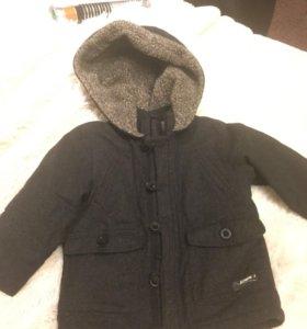 Детская стильная осенняя куртка