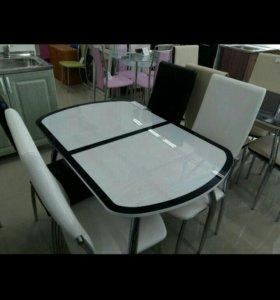 Стол 4 стула.