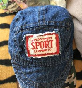 Кепки джинсовые
