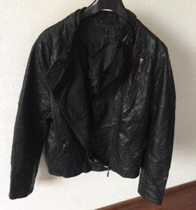 Кожаное куртка