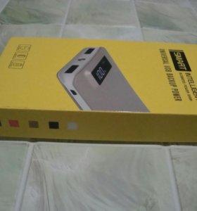 Новый внешний аккумулятор 10000mAh.