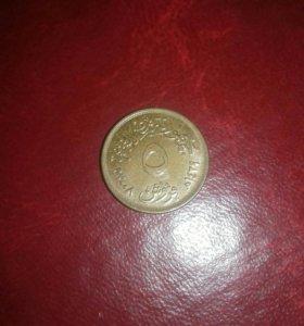 Монета Египта