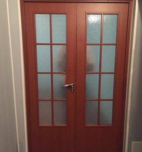 Двери двухстворчатые межкомнатные