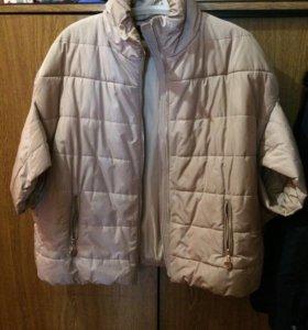 Куртка пончо