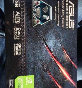 Asus GeForce gt730 3шт.