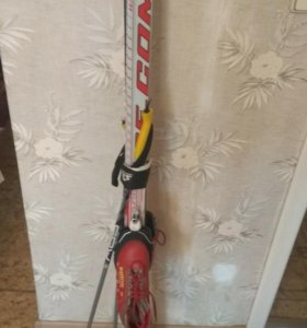 Лыжи с ботинками р. 32