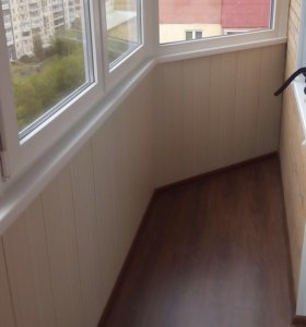 Отделка балкона лоджии
