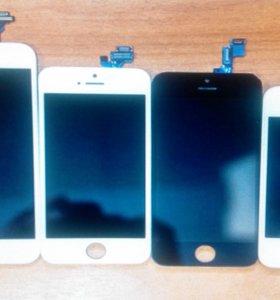 Дисплей для iphone 4, 4s с тачскрин