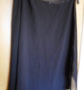 юбка шифон для занятий танцами
