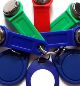 Изготовление дубликатов домофонных ключей, брелков