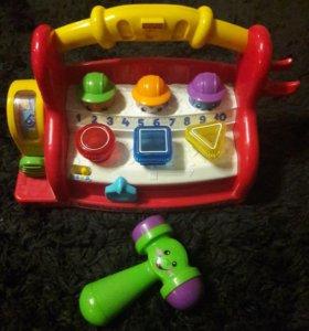 Музыкальная обучающая игрушка Fisher-Price