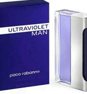 Туалетная вода PACO RABANNE ULTRAVIOLET MAN 100ml.