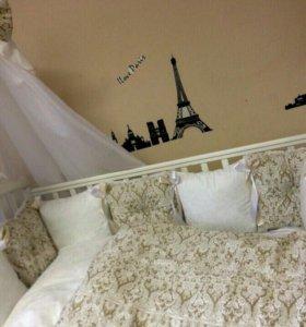 Комплект в кроватку Дамаск