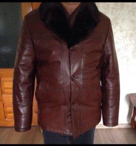 Новая куртка , мужская , зимняя