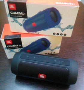 Bluetooth аудиоколонка JBL Charge 2+. Новая.