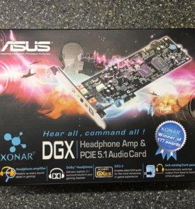 Звуковая/Аудио карта Asus Xonar DXG 5.1 НОВАЯ!