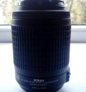 Объектив Nikon 55-200mm f/4-5.6G AF-S DX VR IF-ED