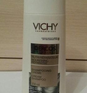 Vichy шампунь-крем для сухих волос