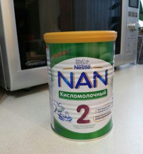 Сухая смесь NAN Кисломолочный для детей с 6 мес.