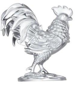 Сувенир из серебра. Петух. Sokolov