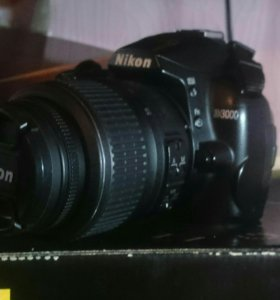 Зеркальный фотоаппарат nikon d3000