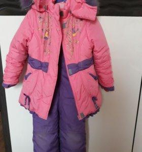Комплект зимний для девочки Lemming