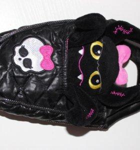 Monster High сумочка с питомцем