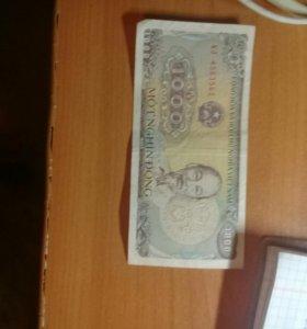 Донги.Вьетнамские деньги.