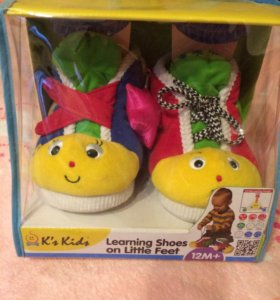 Развивающие ботиночки K's Kids