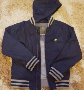 Куртка-Ветровка на мальчика Timberland р.110-116