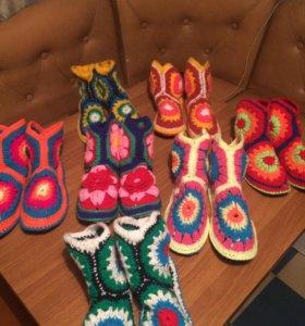 Продам тёплые, удобные носочки или свяжу на заказ