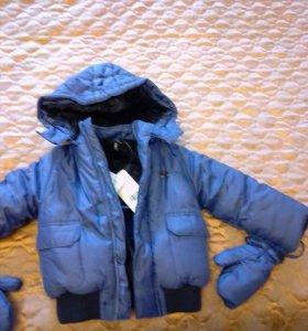 Новая зимняя куртка на 2 года