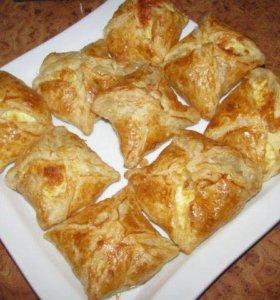 Хачапури с сыром домашние