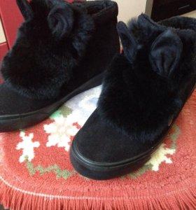 Ботинки.Осень-зима.Новые.38 размер.