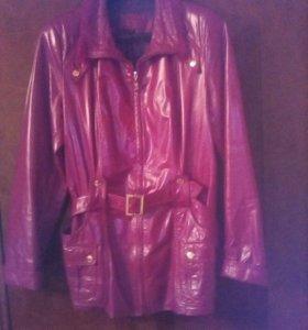 Куртка женская р 46-48 . Кожа