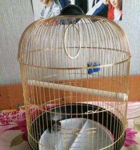 Клетка для птиц. клетка для попугаев.