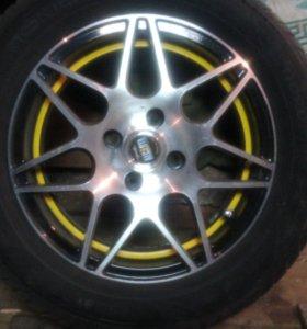 Комплект летних колес-R14.