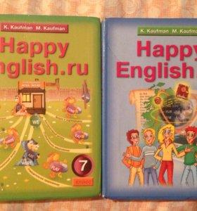Учебники английского 7,8 класс