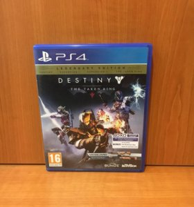 Destiny the taken king legendary edition для ps4