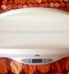 Электронные весы с ростомером Baby Comfort Chicco