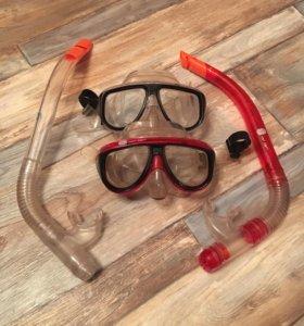 Маски для подводного плавания