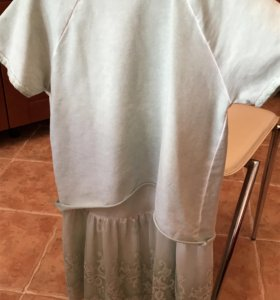 Комплект ( толстовка+платье) для девочки
