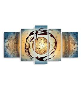 Модульная картина маслом на холсте Арт.039