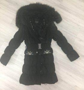Пуховик зимний очень тёплый