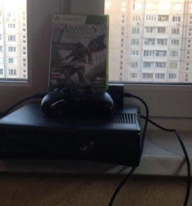 XBOX360 и игра Assassins creed 4 чёрный флаг