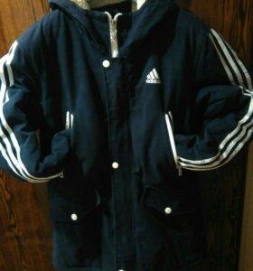 Куртка адидас (парка)