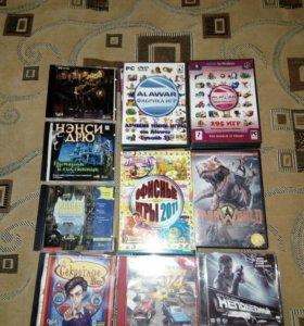 Компьютерные игры на дисках