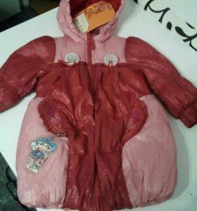 Пальто для девочки ТМ Orby