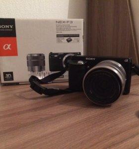 Фотоаппарат Sony NEX-F3
