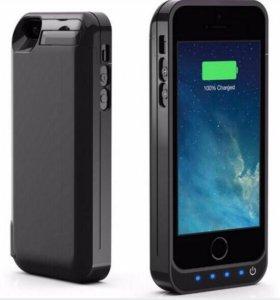 Чехол зарядка (АКБ) iPhone 5 5s 5se 4200mah